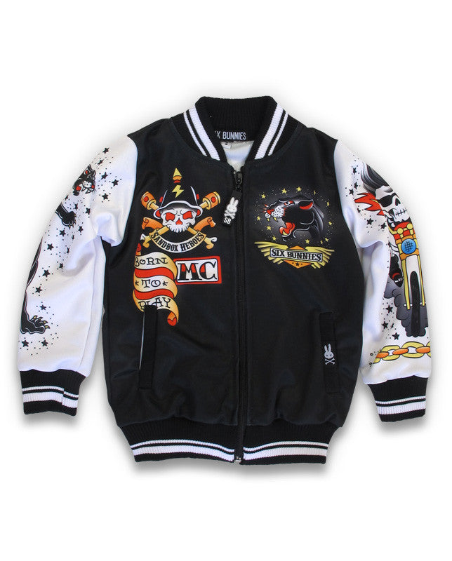 Switchblade Kids Jacket  Six Bunnies Born to Play|Poisonkandyklothing