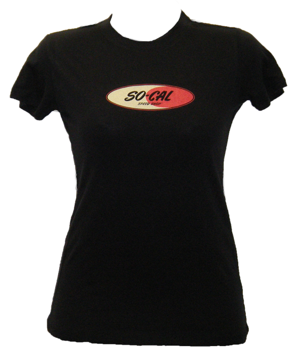 So Cal Ladies T-Shirt - Speed Shop Logo