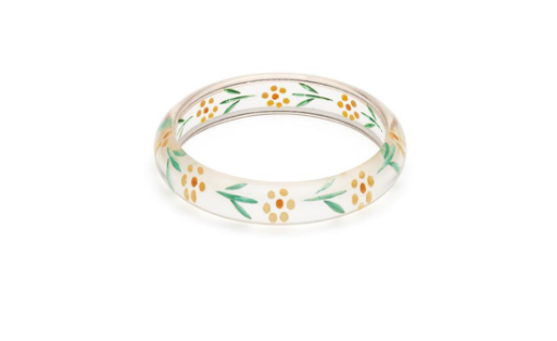 Midi Marigold Reverse Carved Bangle|poisonkandyklothing