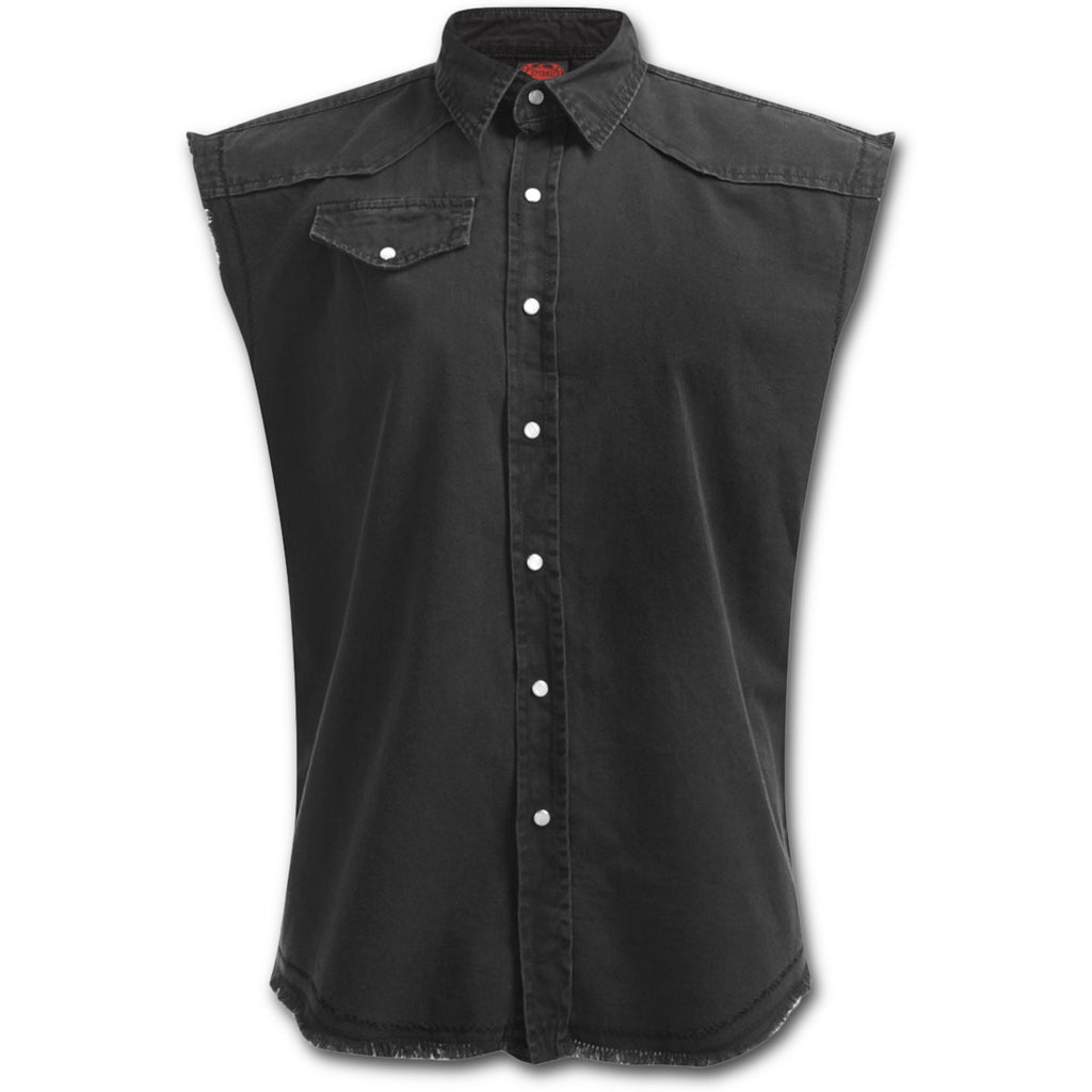 Mens Shirt Sleeveless Darkness Poison Kandy Klothing