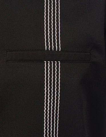 Steady Clothing The Six String Mens Button up Black|Poisonkandyklothing