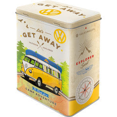 Tins Large - Let's Get Away  VW