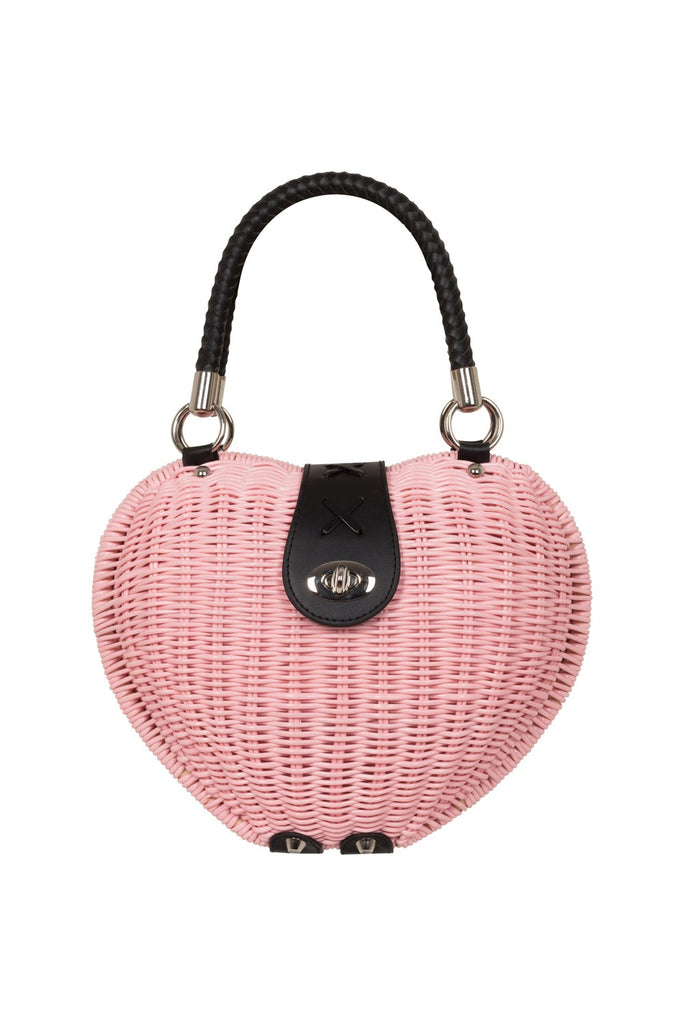 Voodoo Vixen The Monroe Bag Pink|Poisonkandyklothing