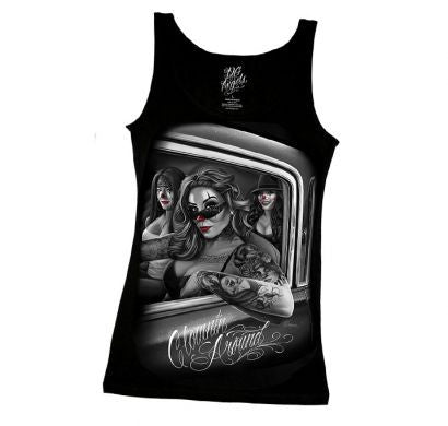 Ladies Tanks - DGA Clownin Around Ladies Tank