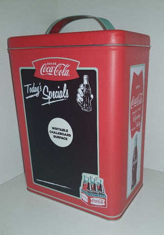 Coca Cola - Tall Chalkboard  Tin