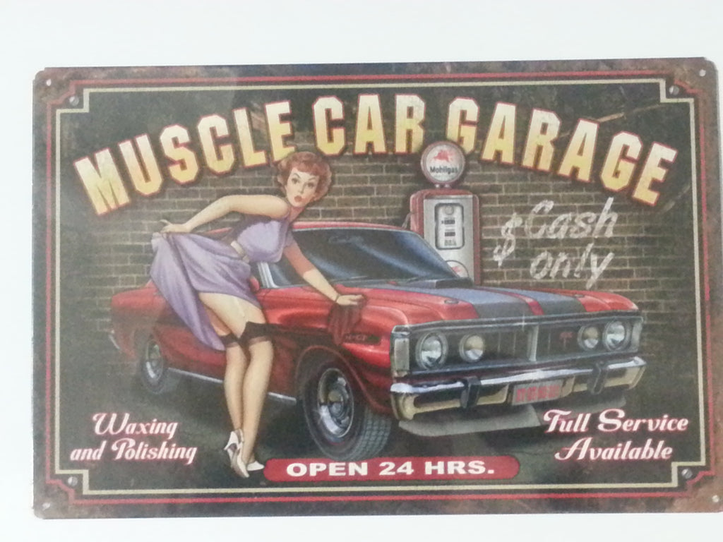 XY GT Muscle Car Garage