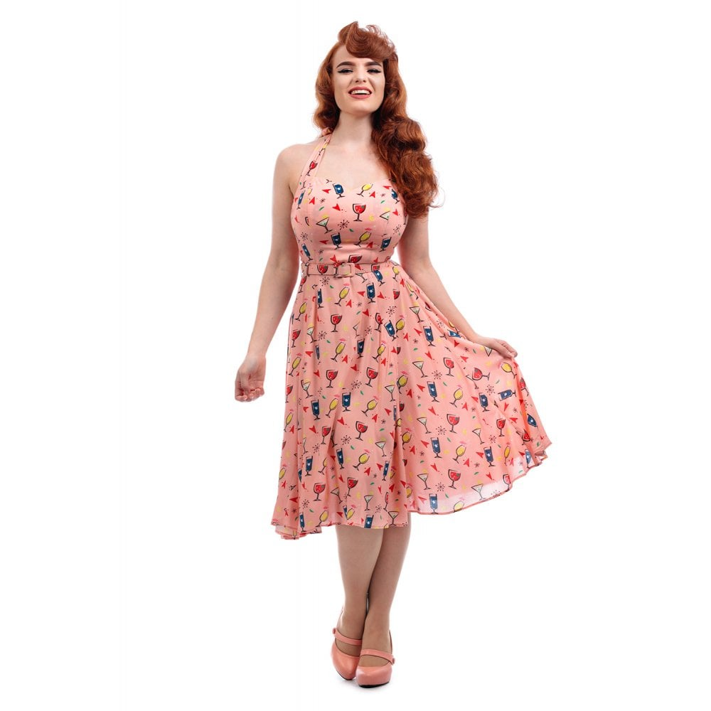 Collectif - Beth Atomic Mainline Dress|Poisonkandyklothing