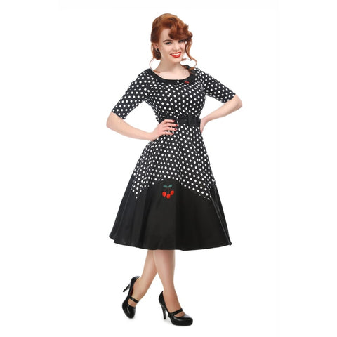 Collectif - Cherry Polka Dot Doll Dress|Poisonkandyklothing