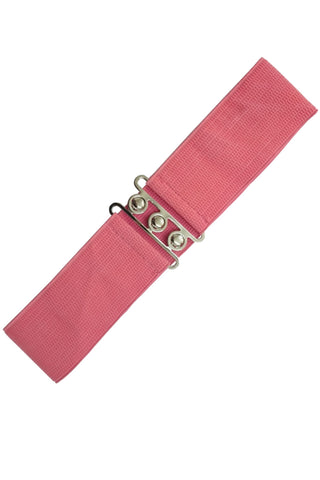Ladies Belt - Banned Apparel Vintage Stretch Coral Belt
