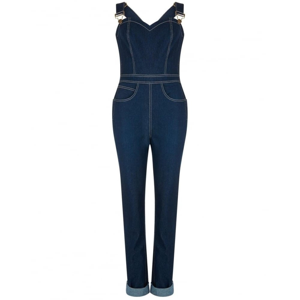 Collectif - Denise Dunagrees Navy|Poisonkandyklothing