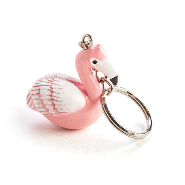 Key Ring Flamingo