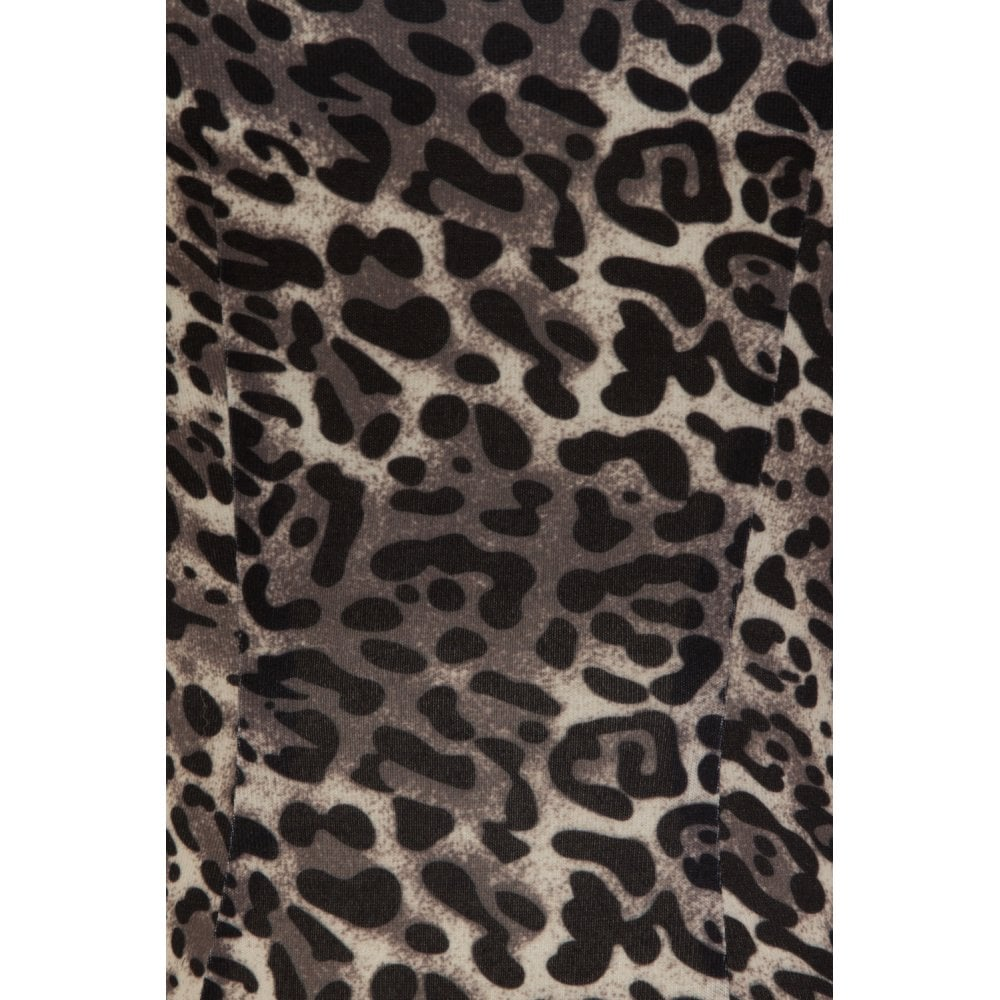 Collectif - Mainline Harmony Leopard Print Top|Poisonkandyklothing