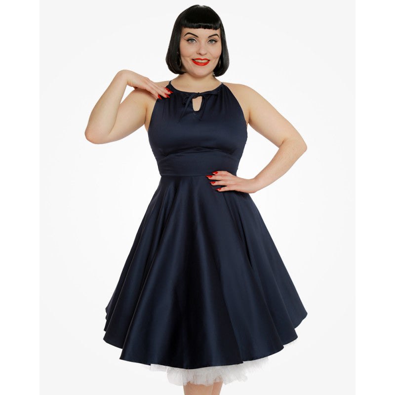 Lindy Bop Julianna Midnight Blue Full Circle Dress