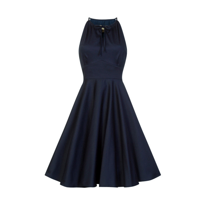 Lindy Bop Julianna Midnight Blue Full Circle Dress SALE ITEM NO RETURNS