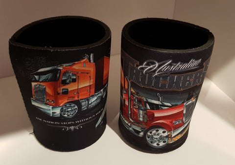 Bar Items - Stomp Kenworth  Aussie Trucker  Stubby Cooler