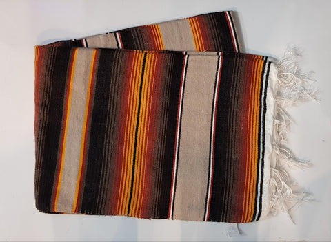 Mexican Blanket Brown/Yellow  in Colour