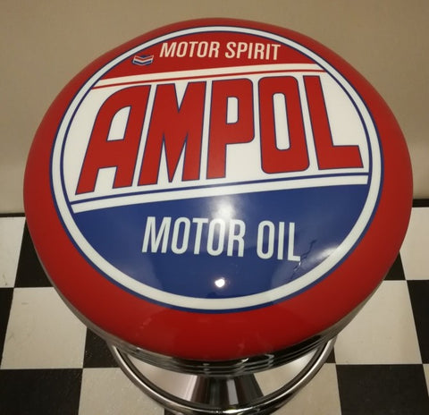 Bar Stool - Ampol Motor Oil