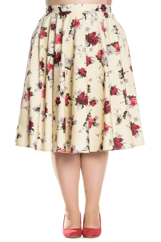 Hell Bunny - Cecily 50's Skirt  Plus Size|Poisonkandyklothing