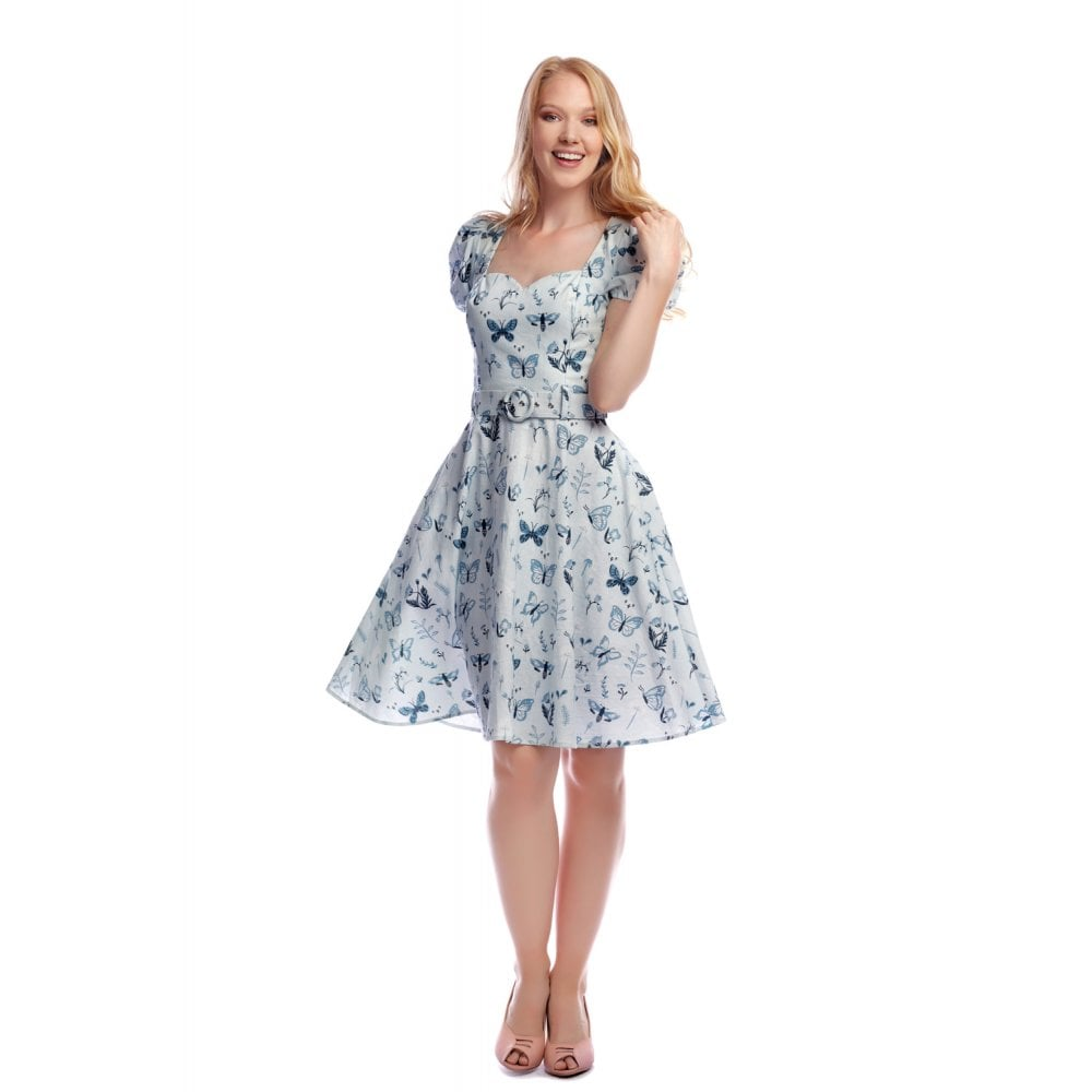 Collectif - Paisley Butterfly Swing Dress