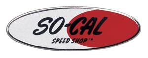 SO-CAL Speed Shop Logo Lapel Pin