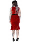 Sourpuss Ladybug Wiggle Dress|Poisonkandyklothing