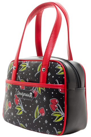 Sourpuss - Bowler Mini Love Cherries Handbag