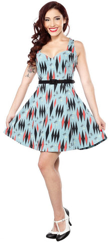 Ladies Dress - Sourpuss Twinkle Toes   SALE ITEM NO RETURN