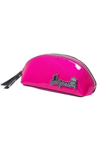 Ladies Makeup Bag - Sourpuss Super Floozy Raspberry