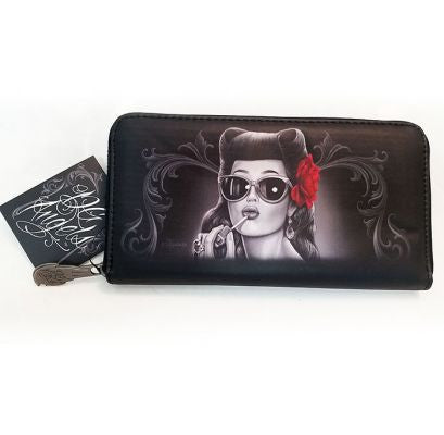 Ladies Wallet - DGA Glamorous|Poisonkandyklothing