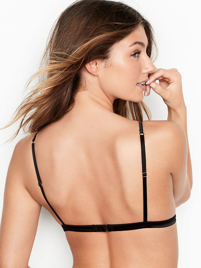 Satin Triangle Bralette - Victoria's Secret Angel shop