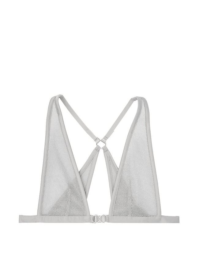 Unlined Chainmail Triangle Bralette - Victoria's Secret Angel shop