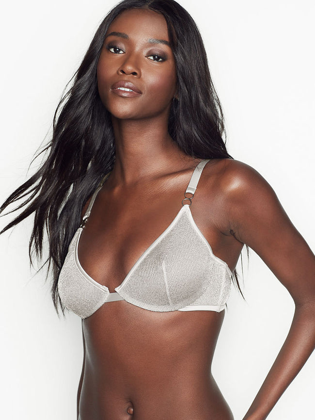 Unlined Chainmail Demi Bra - Victoria's Secret Angel shop