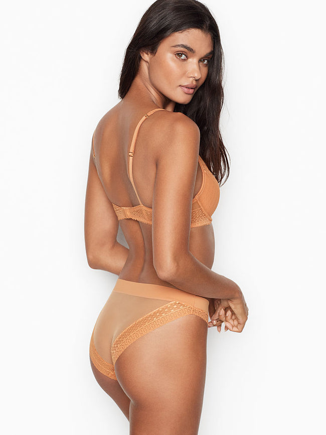 Victoria's Secret Bikini Gold Kalhotky - Victoria's Secret Angel shop
