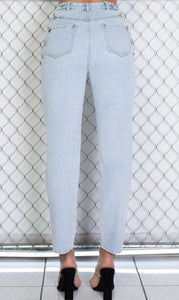 Chain reaction ankle pants