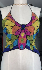 Bright & Beaded butterfly