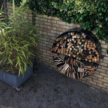 Load image into Gallery viewer, Metal Log Store 1m Diameter