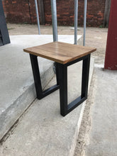 Load image into Gallery viewer, Industrial table hand crafted occasional, side or console table