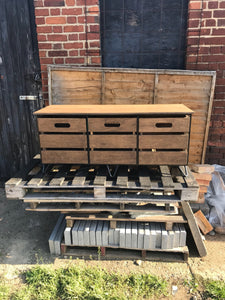 Handmade industrial sideboard or storage bench
