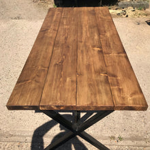Load image into Gallery viewer, Farmhouse Style Rustic Dining Table (no benches!)