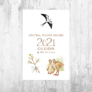 Wholesale Calendar: Central Florida Nature 2021 *PRE-ORDER*