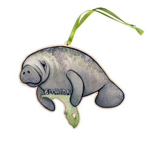 Wholesale Christmas Ornaments: Florida Manatee