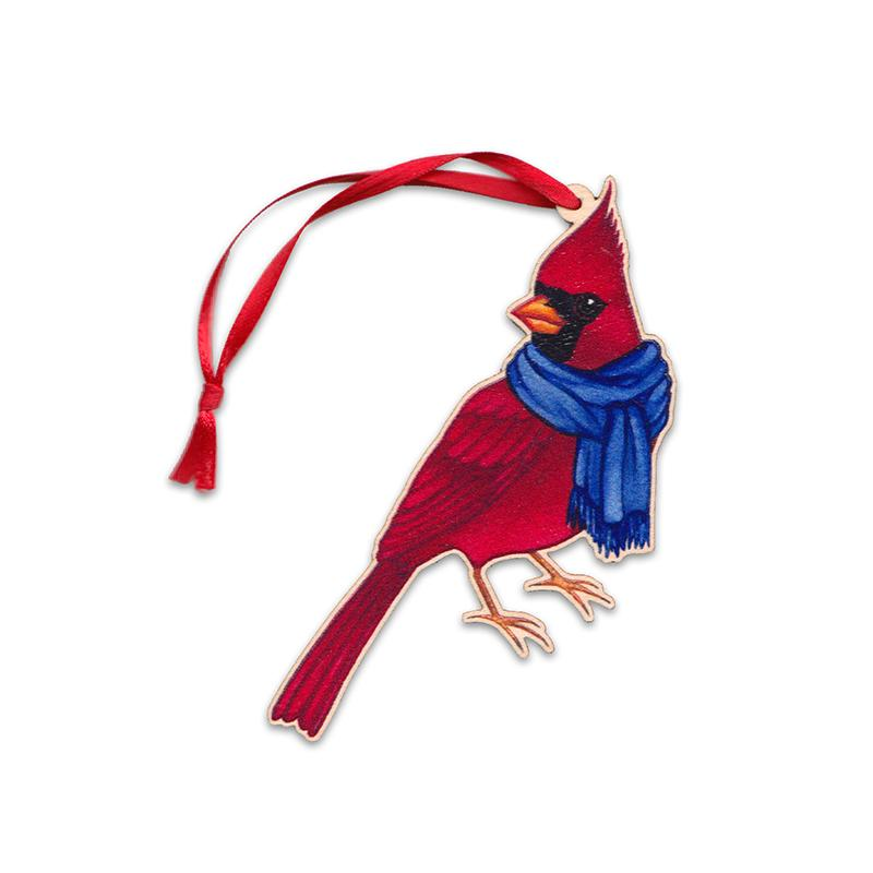 Wholesale Christmas Ornaments: Northern Cardinal