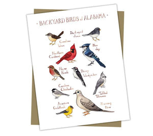 Backyard Birds of Alabama Note Cards