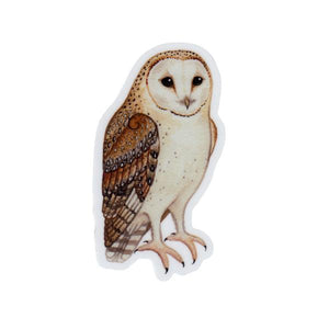 Wholesale Vinyl Sticker: Barn Owl