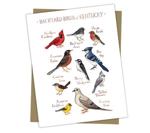 Wholesale Backyard Birds Field Guide Cards: Kentucky