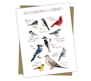 Wholesale Backyard Birds Field Guide Cards: Vermont