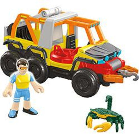 Veiculos Oceano Imaginext Sortido - DFX95 - MATTEL - playnjoy.shop