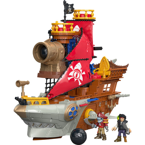 Imaginext Navio Pirata Tubarao - DHH61 - MATTEL - playnjoy.shop