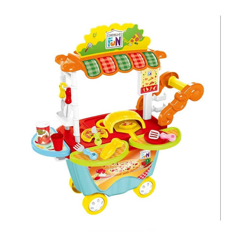 Creative Fun Food Truck Pizzaria - Multilaser - playnjoy.shop
