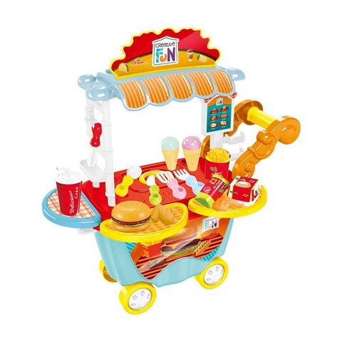 Creative Fun Food Truck Hamburgeria - Multilaser - playnjoy.shop